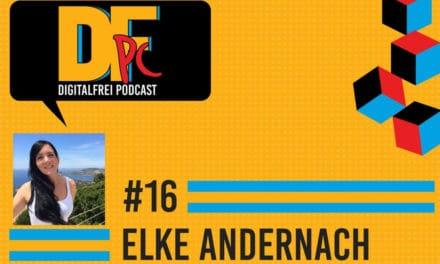 """DFP #16 mit Elke Andernach: Virtuelle Assistentin und ,,Teilzeit"""" Digitale Nomadin"""