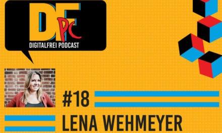 DFP #18 mit Lena Wehmeyer. Virtuelle Assistentin mit festem Wohnsitz in Deutschland.