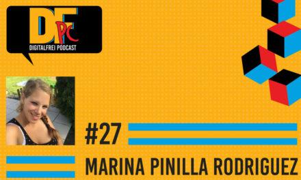 DFP #27 mit Marina Pinilla Rodriguez. Virtuelle Assistentin für Amazon Übersetzungen.