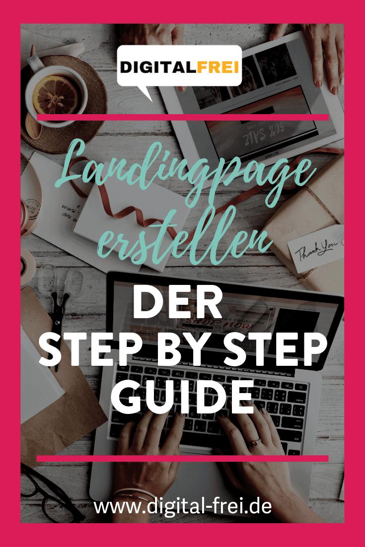 Landingpage erstellen, der Step by Step Guide