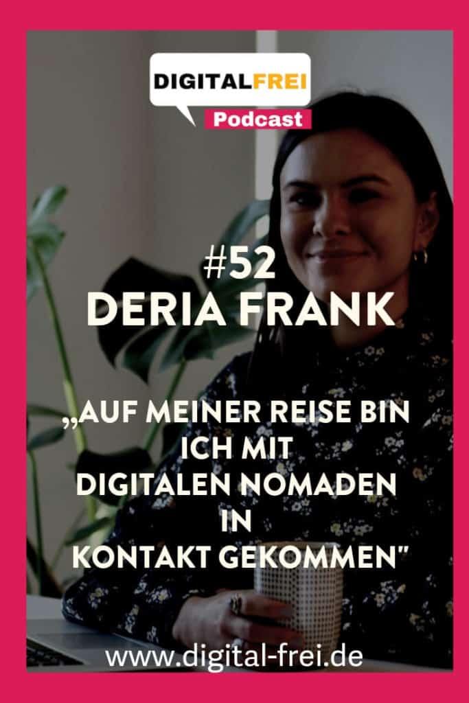 Deria Frank im Digitalfrei Podcast