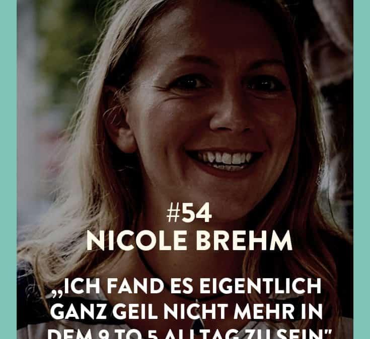 #54 – Nicole Brehm – Durch Netzwerken Kontakte knüpfen