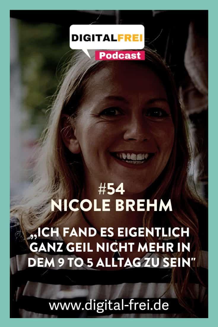 Nicole Brehm im Digitalfrei Podcast