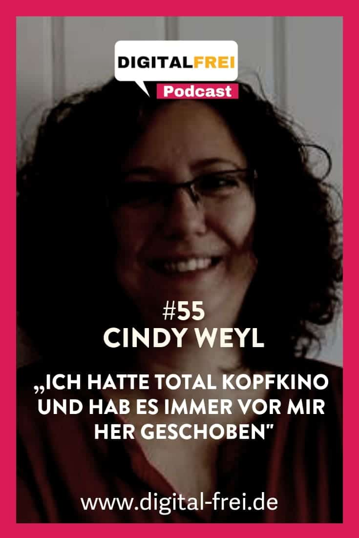 Cindy Weyl im Digitalfrei Podcast