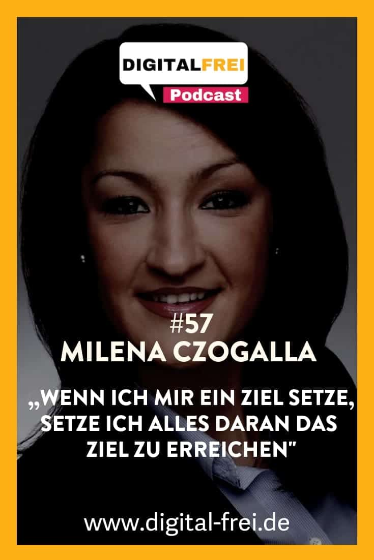 Milena Czogalla Pinterest Virtuelle Assistentin im Digitalfrei Podcast