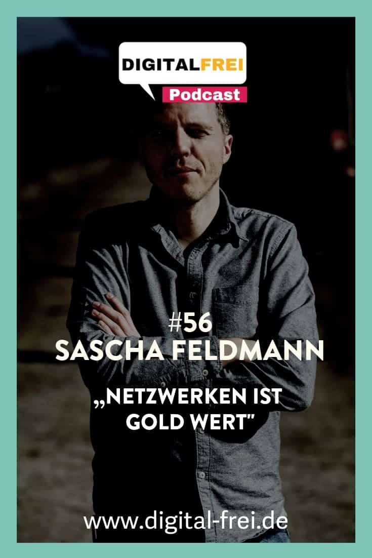 Netzwerken ist Gold werk mit Sascha Feldmann
