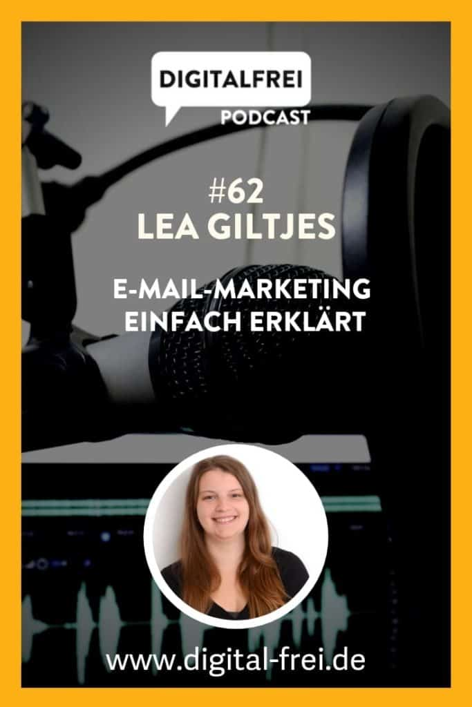 Lea Giltjes im Digitalfrei Podcast