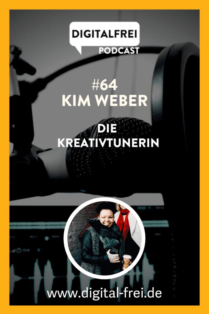Kim Weber die Kreativtunerin im Digitalfrei Podcast