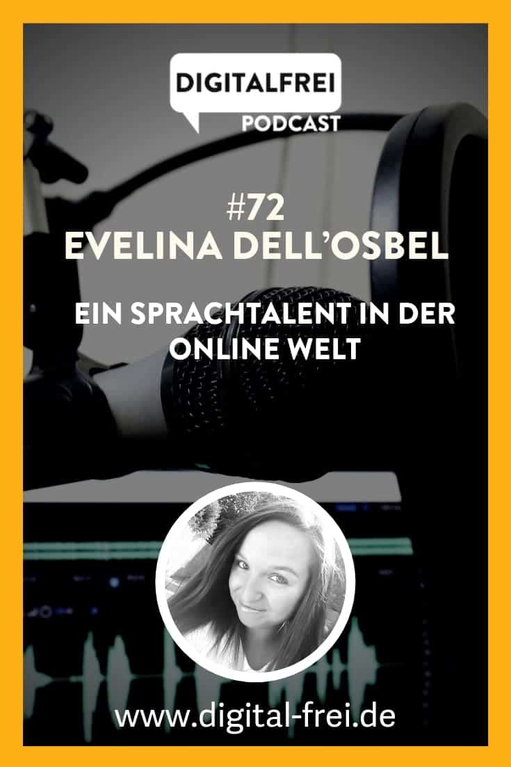 Evelina Dell'Osbel im Digitalfrei Podcast bei Sascha Feldmann