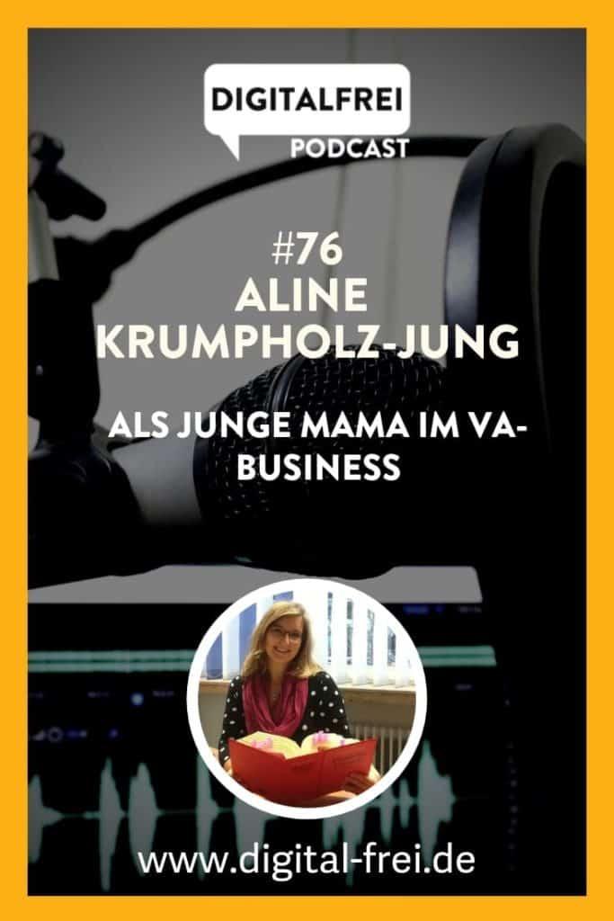Aline Krumpholz-Jung im Digitalfrei Podcast mit Sascha Feldmann