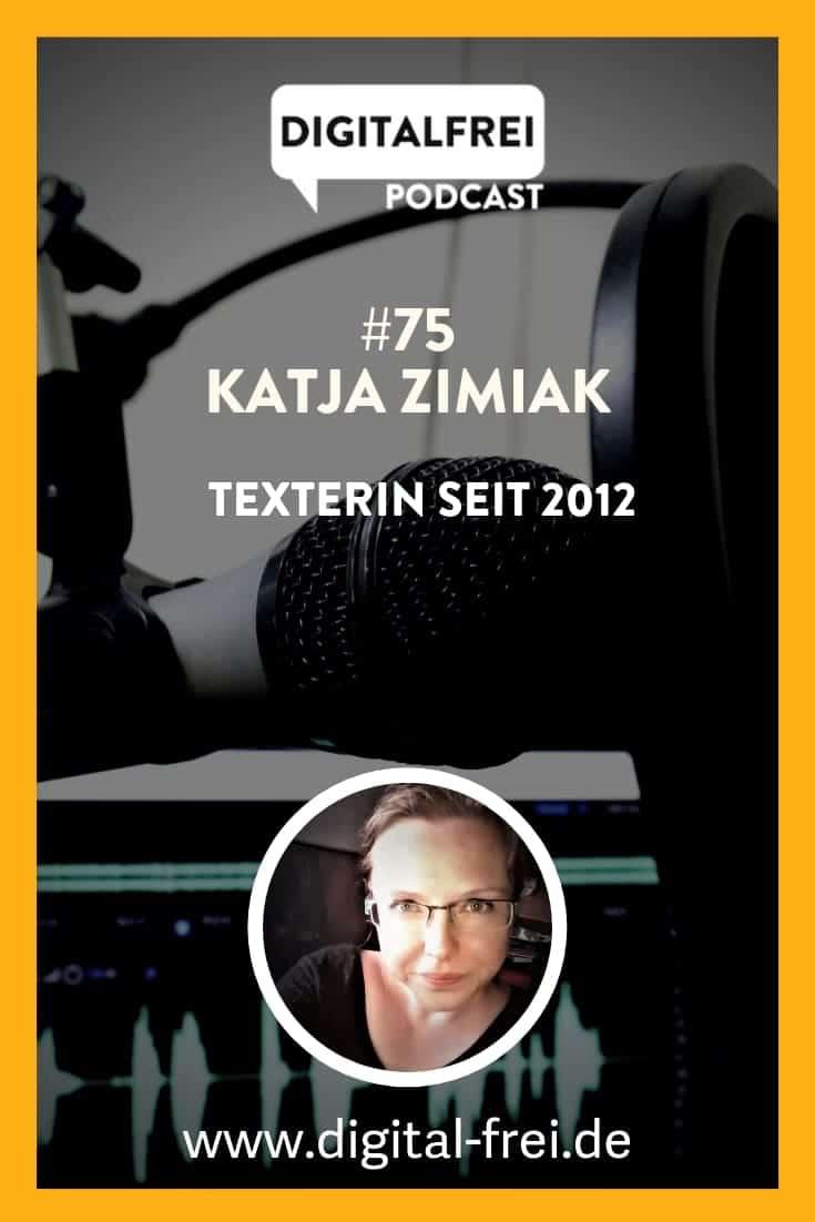 Katja Zimiak im Digitalfrei Podcast mit Sascha Feldmann