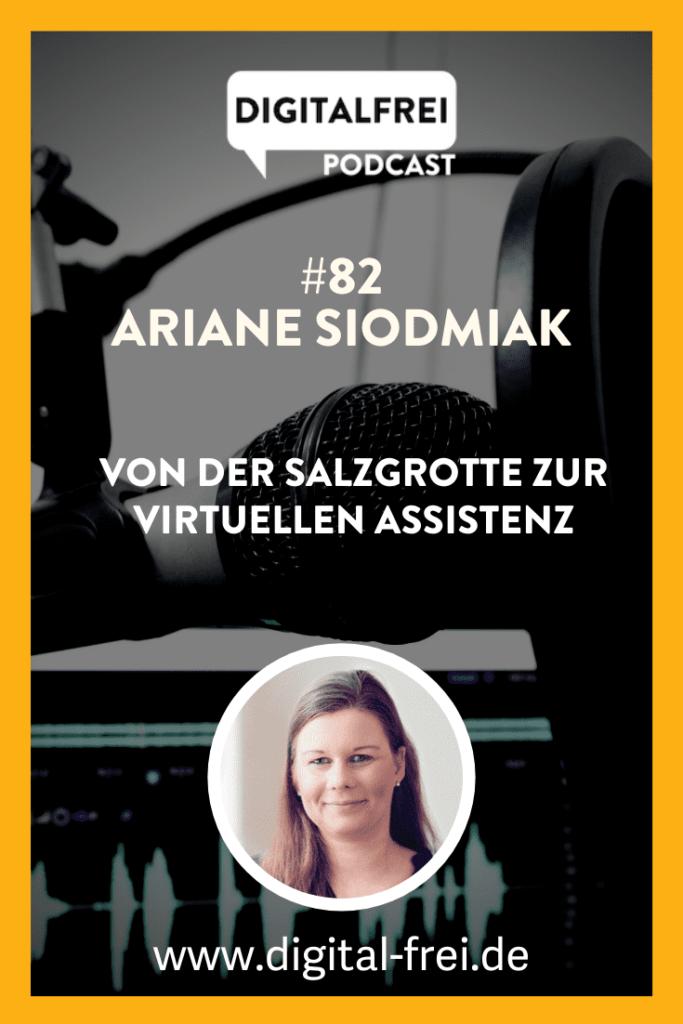 Ariane Siodmiak im Digitalfrei Podcast mit Sascha Feldmann