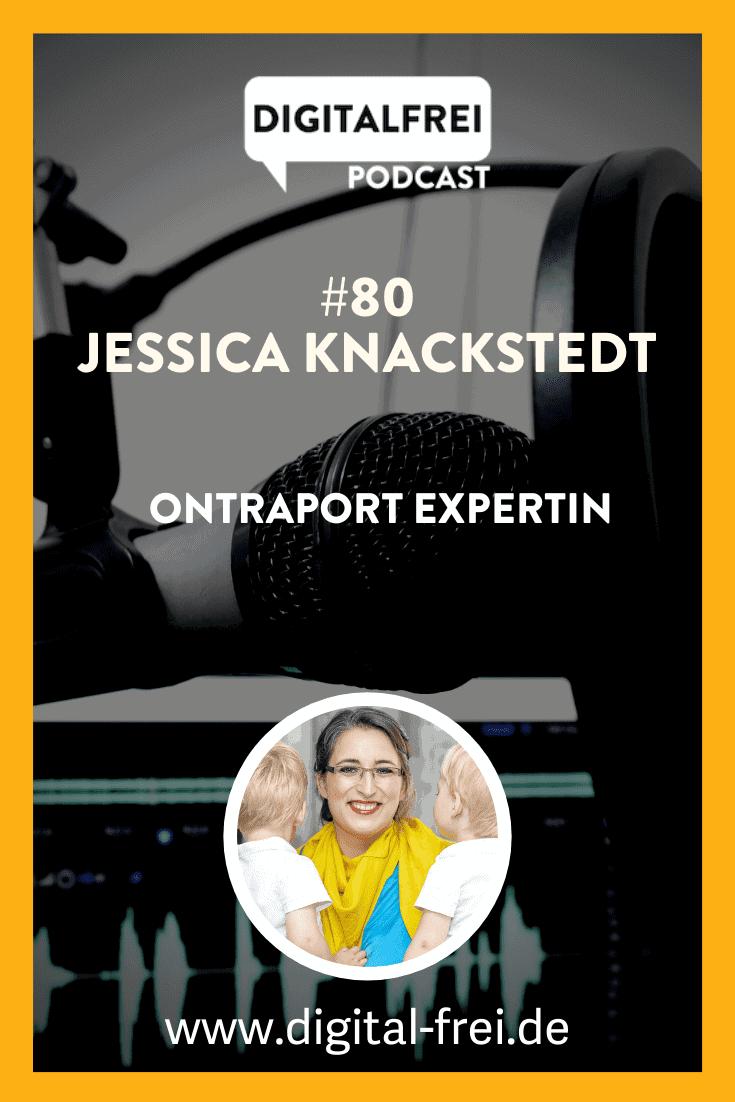 Jessica Knackstedt im Digitalfrei Podcast mit Sascha Feldmann