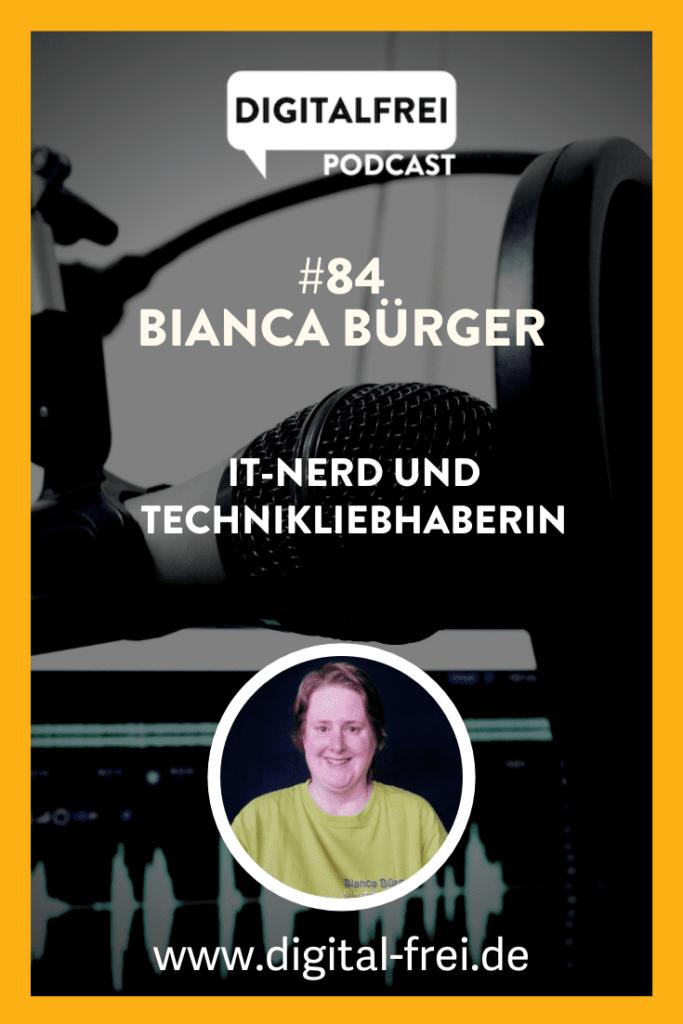 Bianca Bürger im Digitalfrei Podcast mit Sascha Feldmann