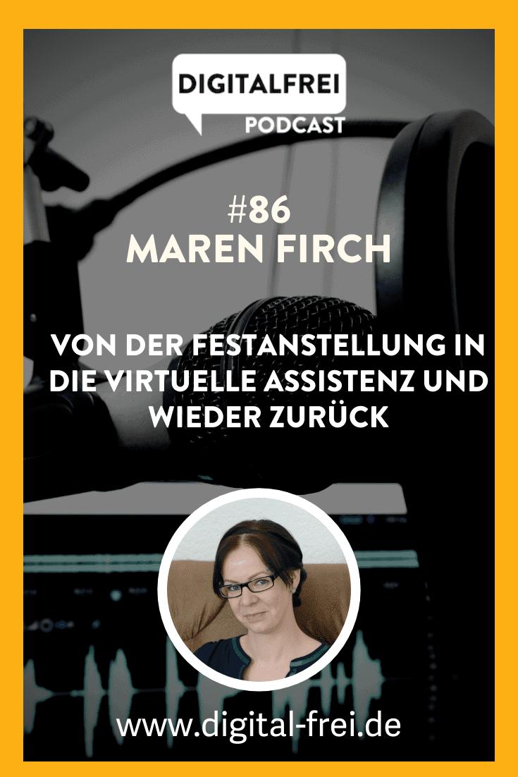 Maren Firch im Digitalfrei Podcast mit Sascha Feldmann