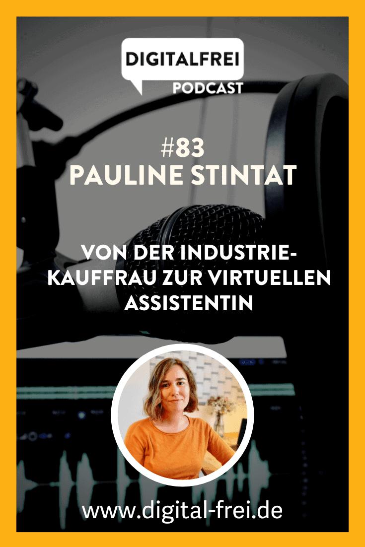 Pauline Stintat im Digitalfrei Podcast mit Sascha Feldmann