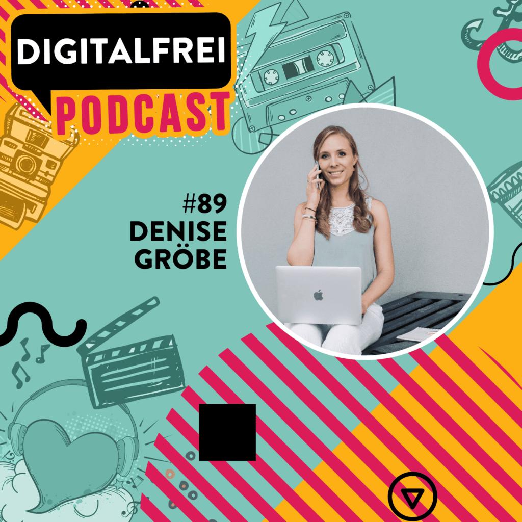 Denise Gröbe im Digitalfrei Podcast