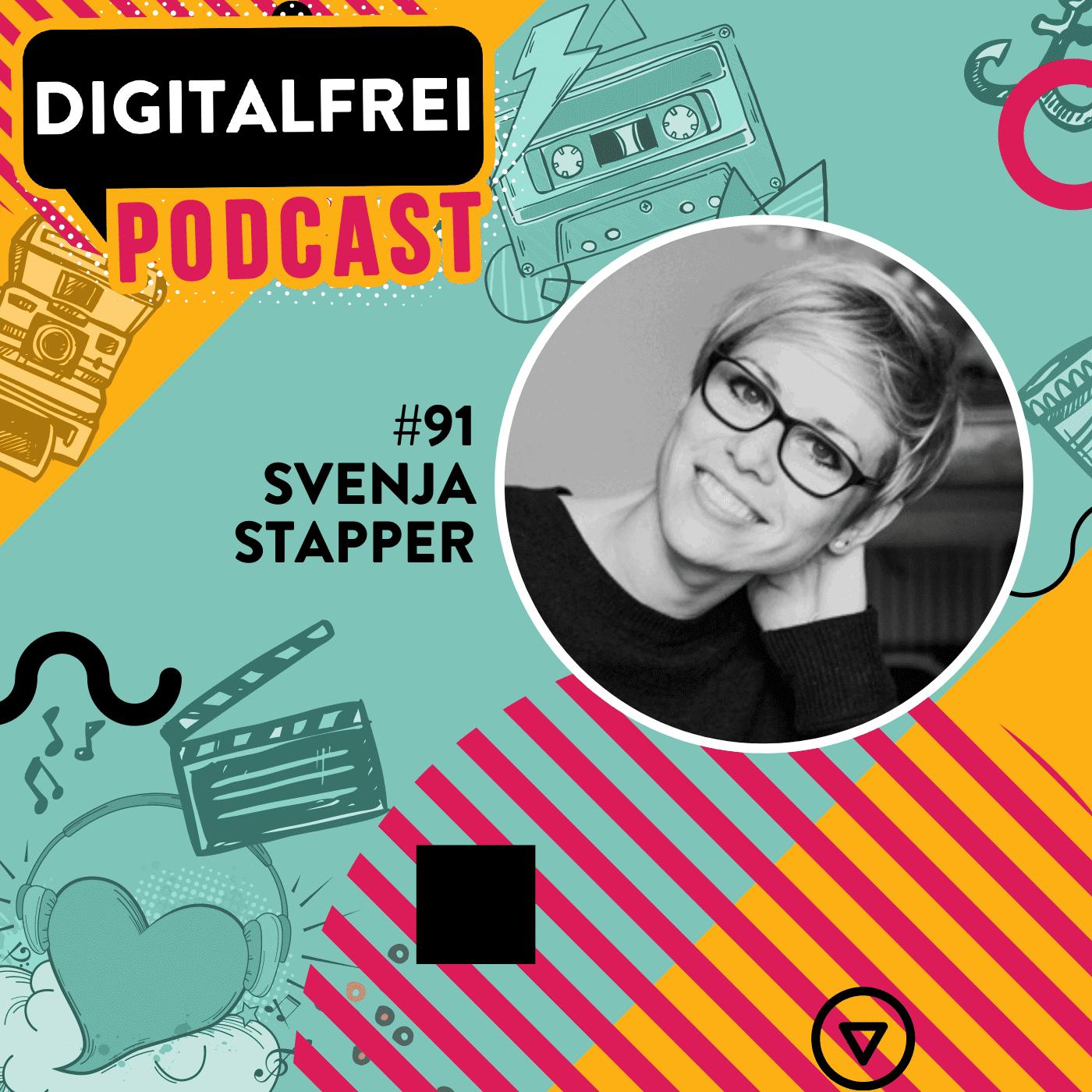 Svenja Stapper im Digitalfrei Podcast mit Sascha Feldmann