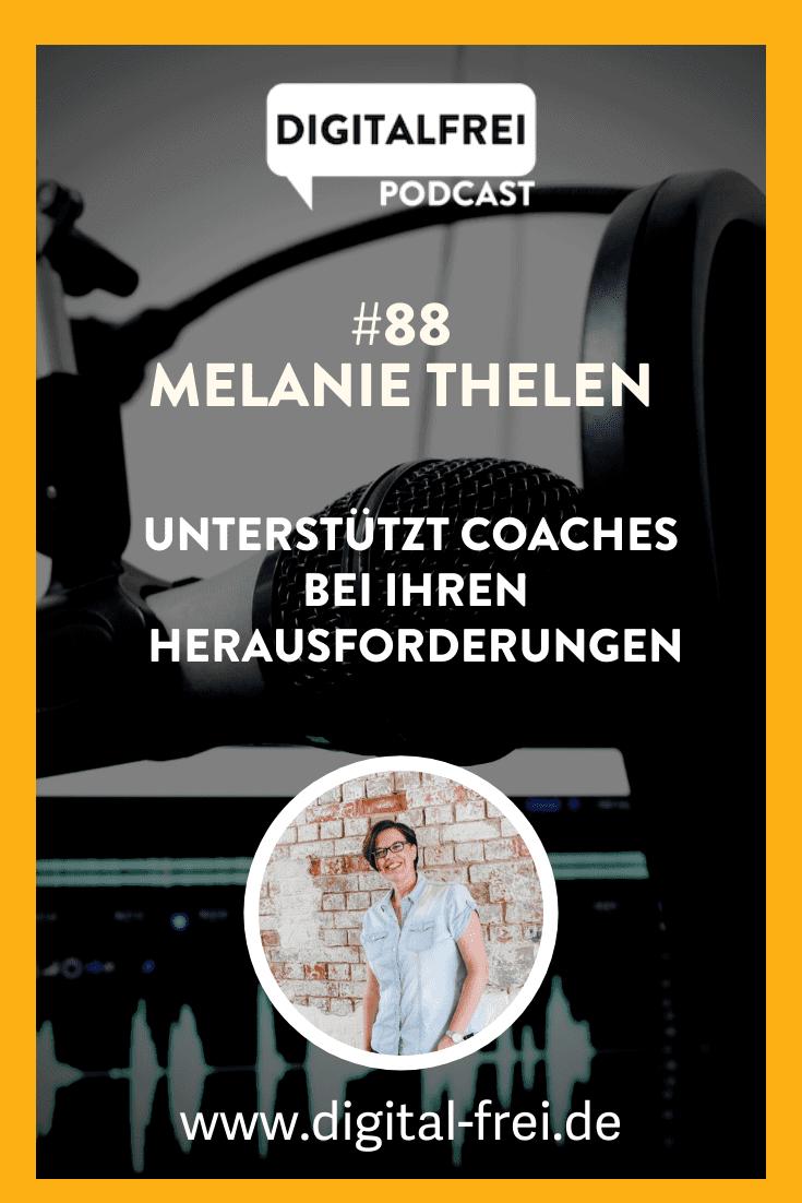 Melanie Thelen im Digitalfrei Podcast mit Sascha Feldmann