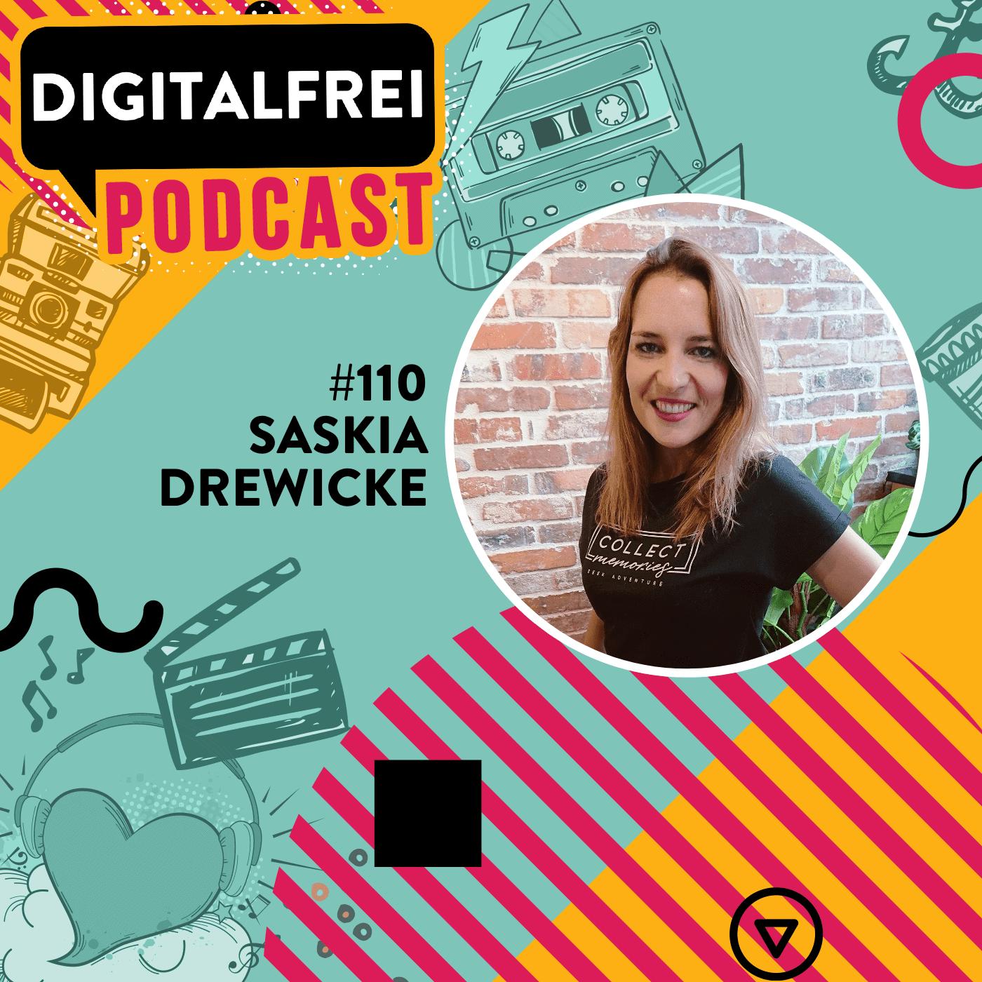 Die Sparheldin Saskia Drewicke im Digitalfrei Podcast mit Sascha Feldmann